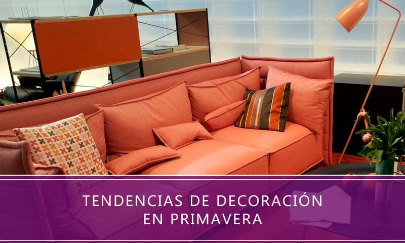 tendencias de decoración en primavera